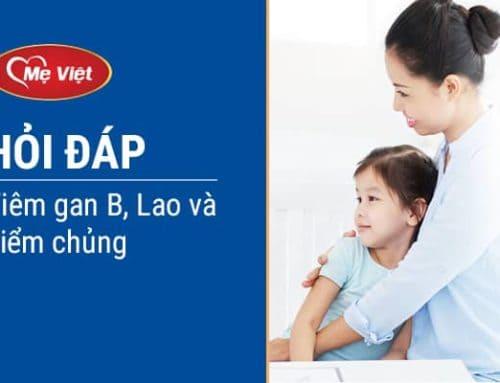Hỏi – Đáp Tiêm Vacxin Lao, Viêm Gan B Và Tiêm Chủng Cho Trẻ