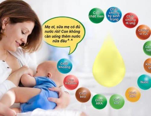 10 Lợi Ích Tuyệt Vời Của Sữa Mẹ