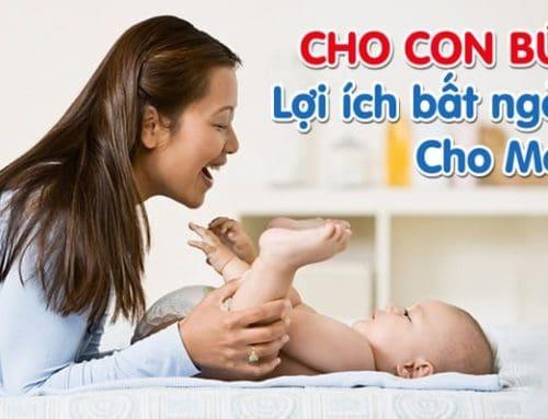 Lợi Ích Bất Ngờ Của Việc Nuôi Con Bằng Sữa Mẹ Đối Với Sức Khỏe Mẹ